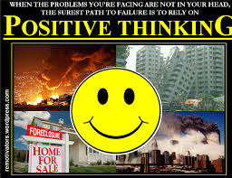 Positive Thinking Meme - how positive thinking nazis jettison responsibility lucky otters