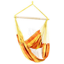 outdoor hammock hanging chair relax orange relaxtribe