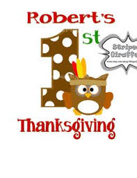 1st thanksgiving stickers happy thanksgiving