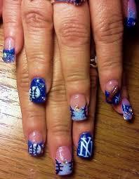 new york yankees fan w 3 d nail art gallery