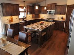 Kitchens With Hickory Cabinets Affordable Custom Cabinets Showroom