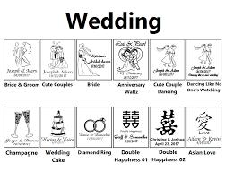 Custom Burlap Art Print Love - wedding personalized salt and pepper shakers from 2 75