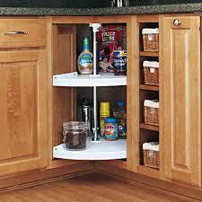 Corner Cabinet In Kitchen Amazon Com Rev A Shelf Pie Cut 2 Shelf Corner Lazy Susan