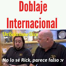 Meme Rick - galería 10 doblajes por país del famoso meme no lo sé rick parece