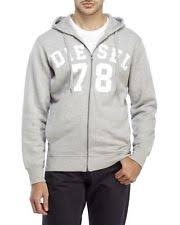 diesel men u0027s 100 cotton sweats u0026 hoodies ebay