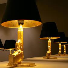 Schlafzimmer Lampe Silber Cheerhouse Pistole Tischlampe Gold Silber Aluminium Cool