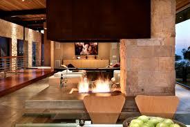 Wohnzimmer Natursteinwand Offene Kamine Sinnvolle Idee Oder Nicht Innendesign Zenideen
