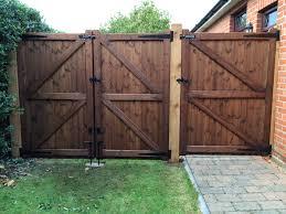 wooden gate security tarmecfencingandgates co uk
