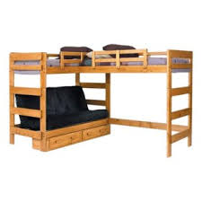 Bunk Bed Loft With Desk Bunk Beds With A Futon Two Top Bunks This Is Awesome B