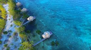 belize resort thatch caye resort private island