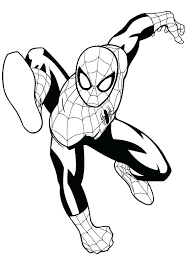 printable coloring pages spiderman spider man color page coloring page printable ultimate coloring
