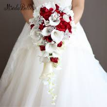 bridal flower free shipping on wedding bouquets in wedding accessories weddings