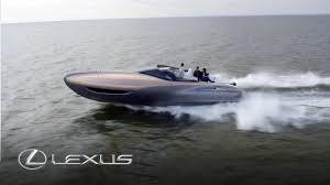 lexus usa twitter lexus sport yacht concept revealed youtube