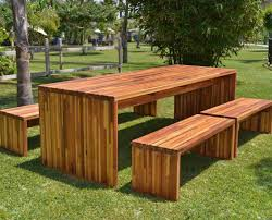 Build Your Own Wooden Patio Table by Furniture Stunning Ideas Outdoor Furniture Wood Smartness Design
