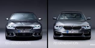 outlines differences between bmw 5 series and its