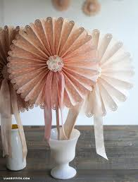 paper fans for weddings diy paper fans for your wedding or summer event diy fan fans