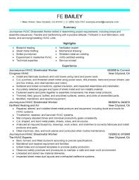 Sample Resume Objectives For Mechanics by Hvac Sample Resume Hvac Mechanical Engineer Resume Sample Resumes