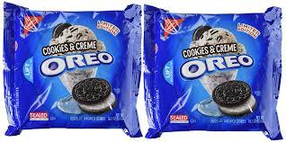 amazon com limited edition cookies u0026 creme oreo cookies 2 pack