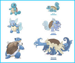 evolving pokemon squirtle coloring pages images pokemon images