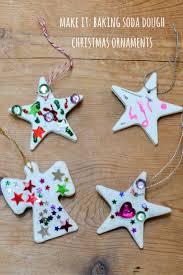 homemade christmas ornaments using baking soda dough growing family