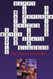 easy crossword puzzles about movies movie one clue crossword