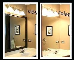 bathroom mirror trim ideas bathroom picture frame ideas full image for mirror framing ideas