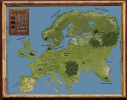 Basic World Map by My New World Map And Some City Maps Made Using Photoshop