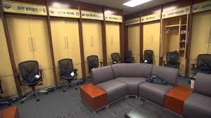 Locker Room Furniture Anthony Davis Shows Pelicans Locker Room November 23 2013 Nba