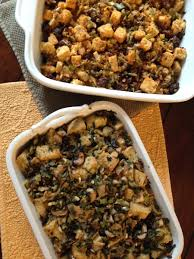 vegetarian thanksgiving stuffing focaccia stuffing with leeks and wild mushrooms from jessica u0027s