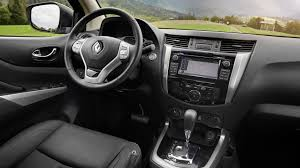renault truck interior renault alaskan pickup 2017 review by car magazine