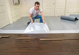 elastilon is a nail free click free way to secure wood flooring
