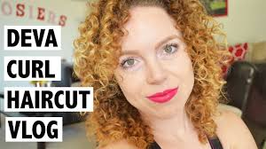 my first devacurl haircut devachan la salon vlog youtube