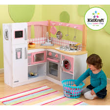 kidkraft island kitchen kidkraft big u0026 bright play kitchen 53100 hayneedle