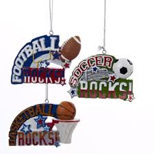 3 5 orange and blue basketball rocks sports ornament