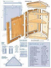 how to build an corner cabinet corner cabinet plans woodarchivist