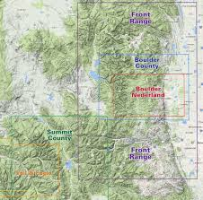 Vail Colorado Map by Map Locator Find The Right Map For Your Adventure Latitude 40