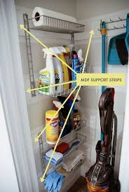 cleaning closet ideas storage organization interesting broom closet for your cleaning