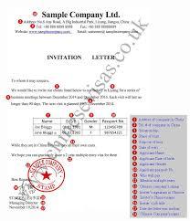 Uk Visa Letter Of Invitation Business Letter Of Invitation For Uk Visa Template Jennywashere