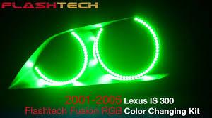 lexus is300 xenon lexus is300 v 3 fusion colorshift halo headlight kit 2001 2005