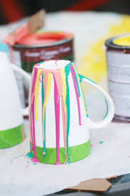 how to make paint drip decorations for your home
