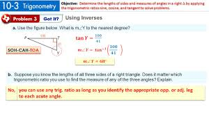 6 the hypotenuse of a triangle is 24 2 ft explain how to find