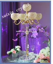 beautiful wedding decoration tiered crystal cake stand zt 157