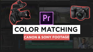 color grading tutorial how to match canon u0026 sony footage