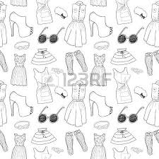 clothes sketches royalty free cliparts vectors and stock