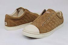 ugg jemma sale ugg australia jemma quilted leather fresh sneaker tennis shoe