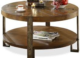 Clock Coffee Table by Glass And Wood Round Clock Coffee Table In White With Distressed