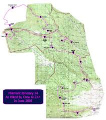 philmont scout ranch map philmont itinerary 24 photos diagrams topos summitpost