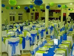turquoise blue and silver wedding decor turquoise blue wedding