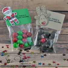 miss pinks craft spot cookie cutter christmas treat bags gdp051