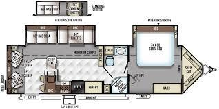 Rockwood Travel Trailer Floor Plans Flagstaff V Lite Travel Trailers Floor Plans Access Rv